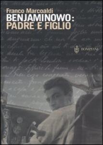 Benjaminowo: padre e figlio - Franco Marcoaldi - copertina