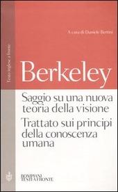 Saggio su una nuova teoria della visione-Trattato sui principi della conoscenza umana. Testo inglese a fronte