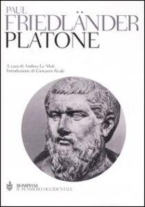 Libro Platone Paul Friedländer