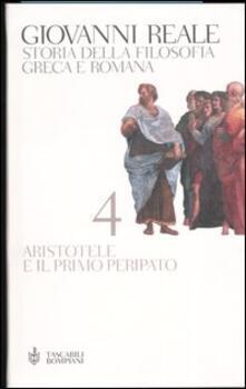 Daddyswing.es Storia della filosofia greca e romana. Vol. 4: Aristotele e il primo Peripato. Image