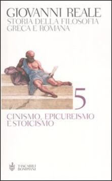 Winniearcher.com Storia della filosofia greca e romana. Vol. 5: Cinismo, epicureismo e stoicismo. Image