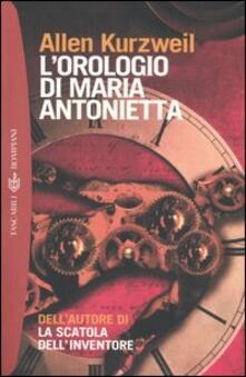 Capturtokyoedition.it L' orologio di Maria Antonietta Image