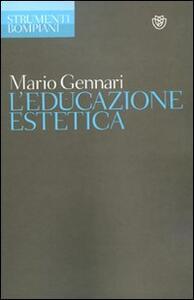 L' educazione estetica - Mario Gennari - copertina