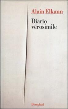 Diario verosimile - Alain Elkann - copertina