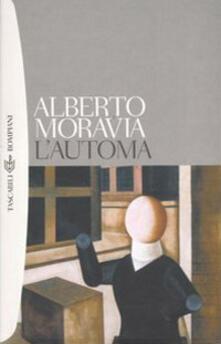 L' automa - Alberto Moravia - copertina