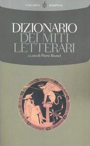Dizionario dei miti letterari - copertina