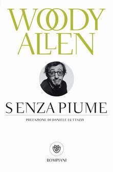 Senza piume - Woody Allen - copertina