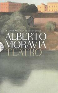 Teatro - Alberto Moravia - copertina