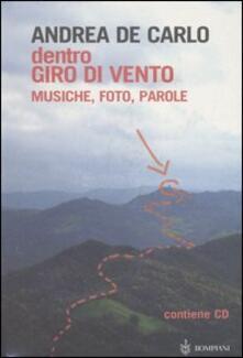 Winniearcher.com Dentro Giro di vento. Musiche, foto, parole. Con CD Audio Image