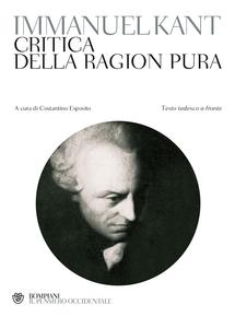 Libro Critica della ragion pura. Testo tedesco a fronte Immanuel Kant