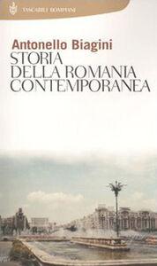Foto Cover di Storia della Romania contemporanea, Libro di Antonello Biagini, edito da Bompiani