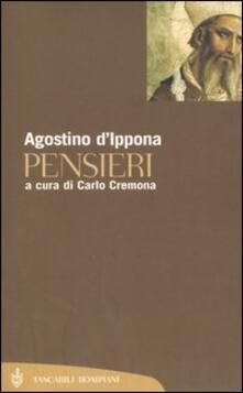Pensieri - Agostino (sant') - copertina
