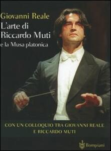 L' arte di Riccardo Muti e la Musa platonica - Giovanni Reale - copertina
