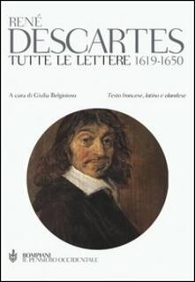 Criticalwinenotav.it Tutte le lettere 1619-1650. Testo francese a fronte Image