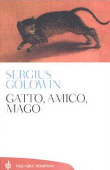 Gatto, amico, mago - Sergius Golowin - copertina