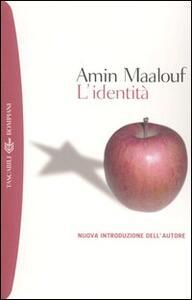 L' identità - Amin Maalouf - copertina