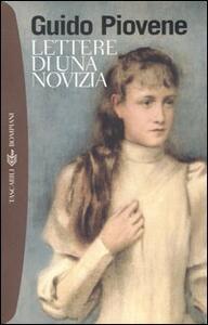Lettere di una novizia - Guido Piovene - copertina
