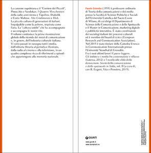 La cultura sottile. Media e industria culturale in Italia dall'Ottocento agli anni Novanta - Fausto Colombo - 2