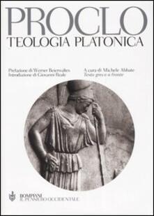 Listadelpopolo.it Teologia platonica. Testo greco a fronte Image