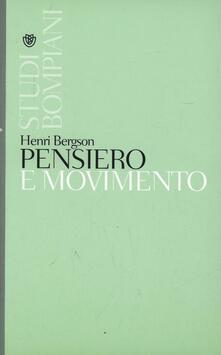 Pensiero e movimento - Henri Bergson - copertina