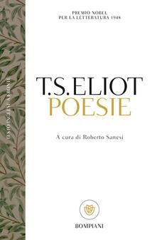 Poesie - Thomas S. Eliot - copertina