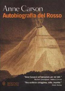 Autobiografia del Rosso - Anne Carson - copertina