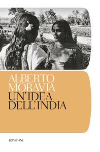 Un' idea dell'India - Alberto Moravia - copertina