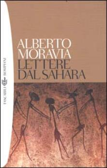 Lettere dal Sahara - Alberto Moravia - copertina