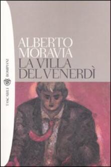 La villa del venerdì - Alberto Moravia - copertina