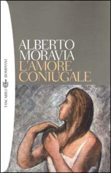 L' amore coniugale - Alberto Moravia - copertina