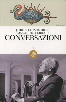 Conversazioni - Jorge L. Borges - copertina