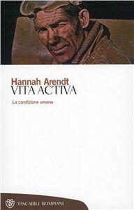 Libro Vita activa Hannah Arendt