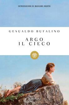 Argo il cieco - Gesualdo Bufalino - copertina