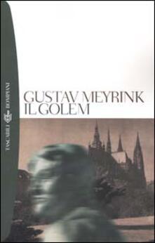 Il Golem - Gustav Meyrink - copertina