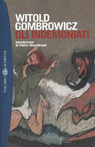 Gli indemoniati - Witold Gombrowicz - copertina