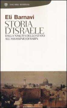Storia d'Israele. Dalla nascita dello Stato all'assassinio di Rabin - Eli Barnavi - copertina