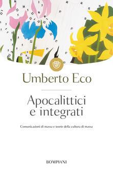 Apocalittici e integrati - Umberto Eco - copertina