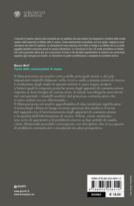 Teorie delle comunicazioni di massa - Mauro Wolf - 2