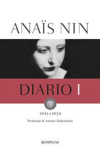 Diario. Vol. 1: 1931-1934. - Anaïs Nin - copertina