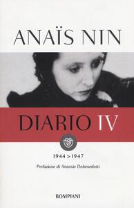 Diario. Vol. 4: 1944-1947. - Anaïs Nin - copertina