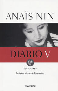 Diario. Vol. 5: 1947-1955. - Anaïs Nin - copertina