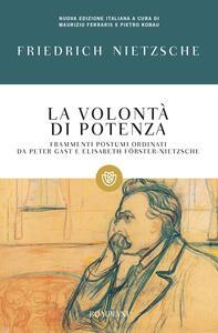 La volontà di potenza - Friedrich Nietzsche - copertina