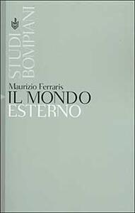 Il mondo esterno - Maurizio Ferraris - copertina
