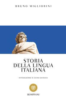 Storia della lingua italiana - Bruno Migliorini - copertina