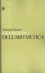 Filosofia dell'aritmetica - Edmund Husserl - copertina