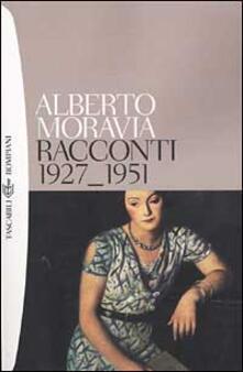 Racconti 1927-1951 - Alberto Moravia - copertina