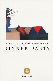 Dinner party - Pier Vittorio Tondelli - copertina