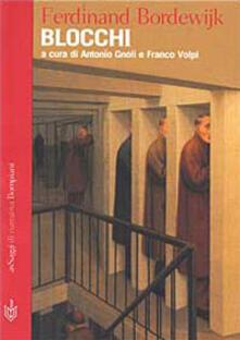 Blocchi - Ferdinand Bordewijk - copertina
