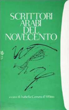 Scrittori arabi del Novecento - copertina