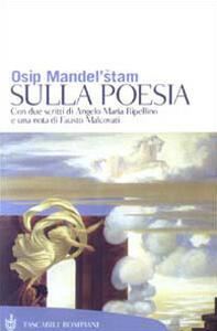 Sulla poesia - Osip Mandel'stam - copertina